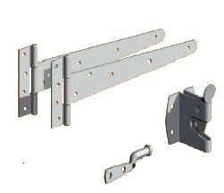 pedestrian gate kits