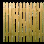Picket Top Garden Gate Web