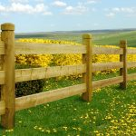 Woodford Chunky Post & Rail Fence web